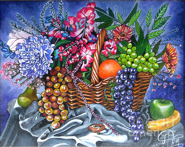 Annette Jimerson - Plastic Fruits and Flowers