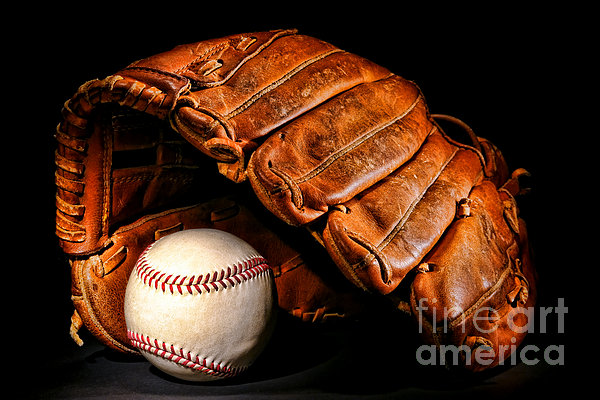 Play Ball Print by Olivier Le Queinec