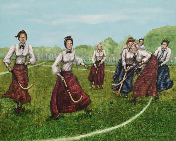 Play Of Yesterday Print by Linda Simon