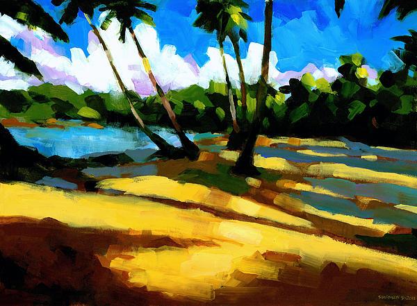 Playa Bonita 2 Print by Douglas Simonson