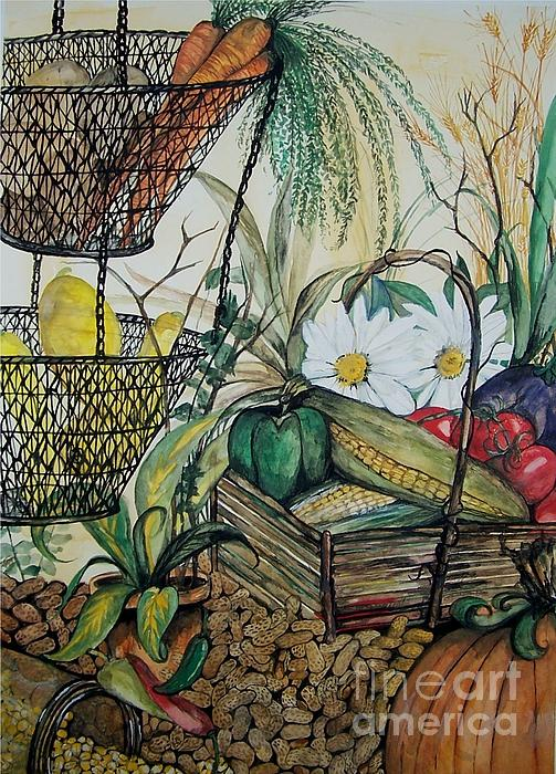 Plentiful Harvest Print by Laneea Tolley