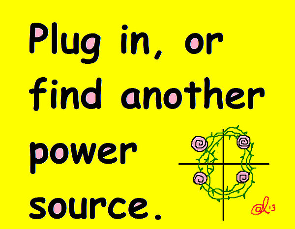 Plug In Print by Anita Dale Livaditis