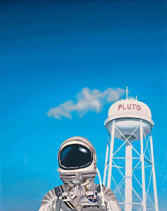Pluto Print by Scott Listfield