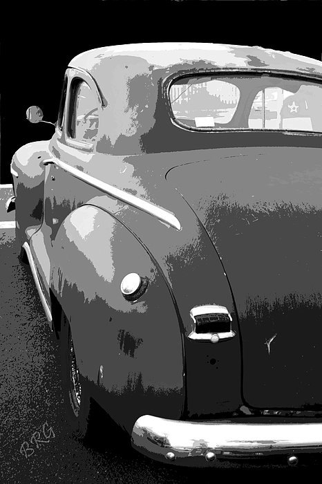 Plymouth The Car Print by Ben and Raisa Gertsberg