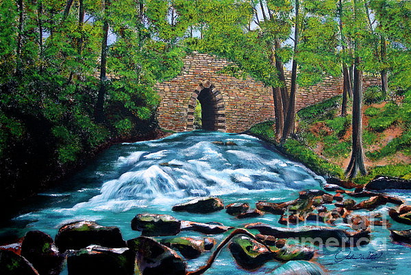 Poinsett Bridge I Print by Andrew Wells