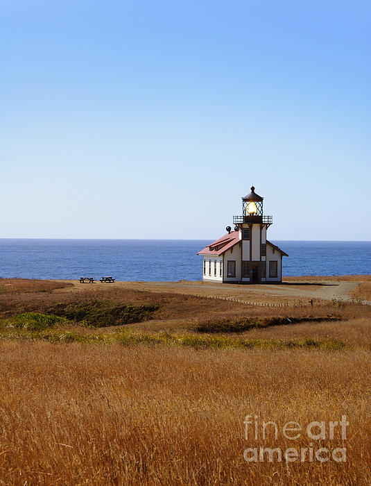 Point Cabrillo Light House Print by Abram House