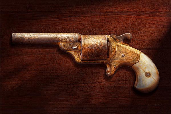 Police - Gun - Mr Fancy Pants Print by Mike Savad
