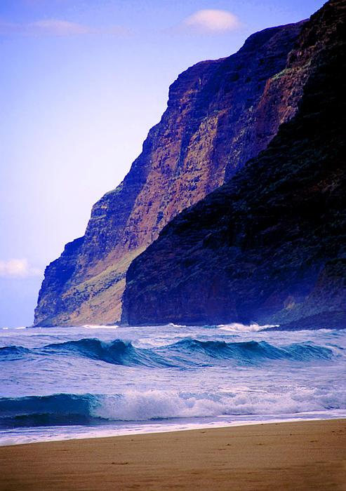 Polihale Beach Kauai Print by Kevin Smith