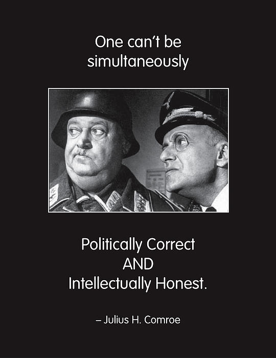 Political Correctness Print by Mike Flynn