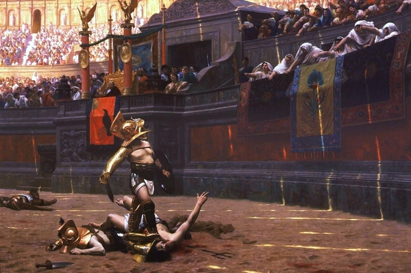 Pollice Verso Print by Pg Reproductions