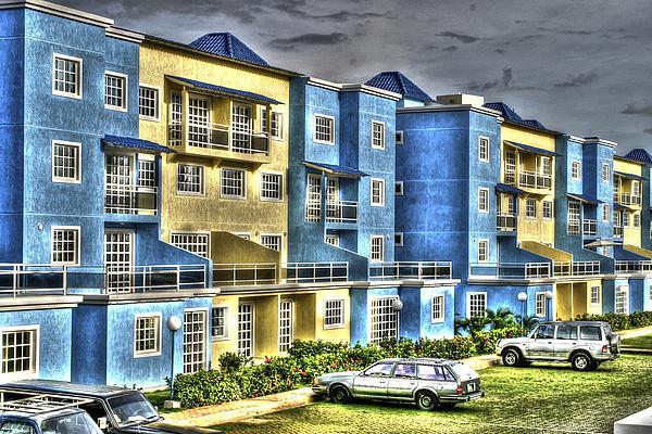 Polomar Apartments Print by Gail Maloney