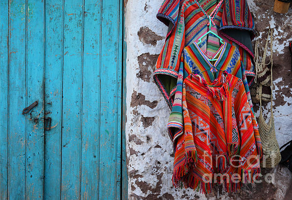 Ponchos For Sale Print by James Brunker