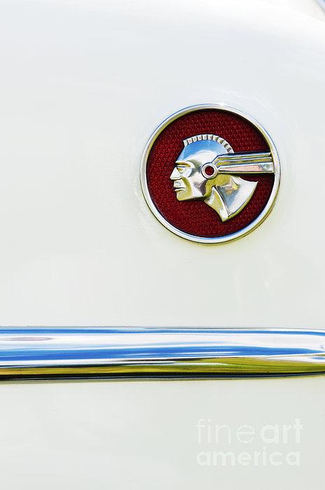 Pontiac Eight Chieftain Print by Tim Gainey