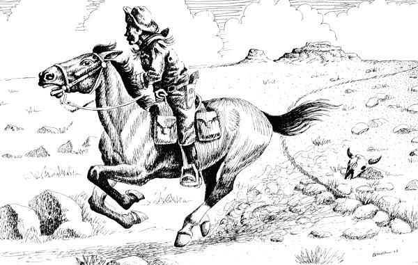 Bern Miller - Pony Express Rider