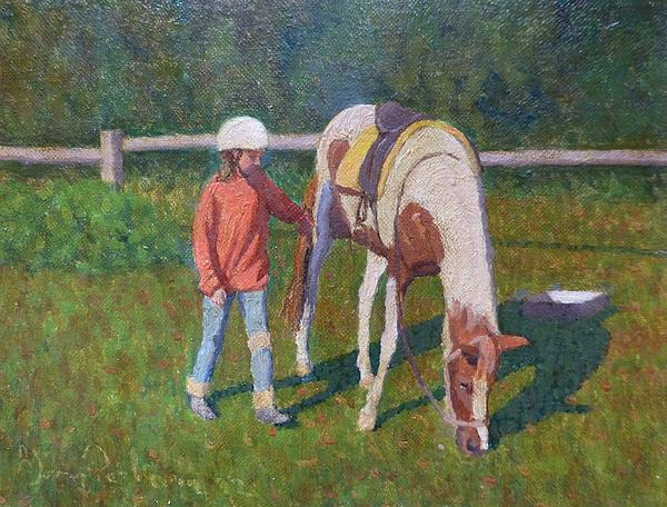 Pony Print by Terry Perham