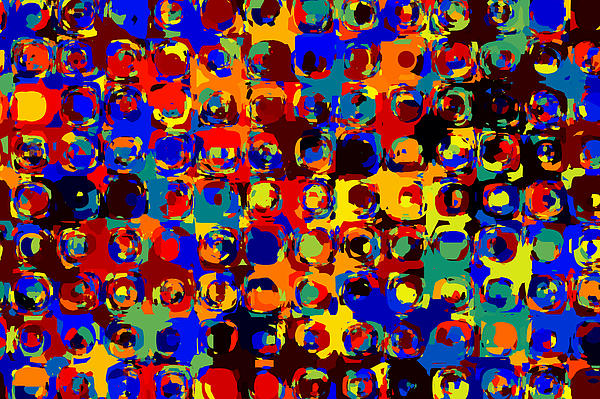 Pop Colors 14 Print by Craig Gordon