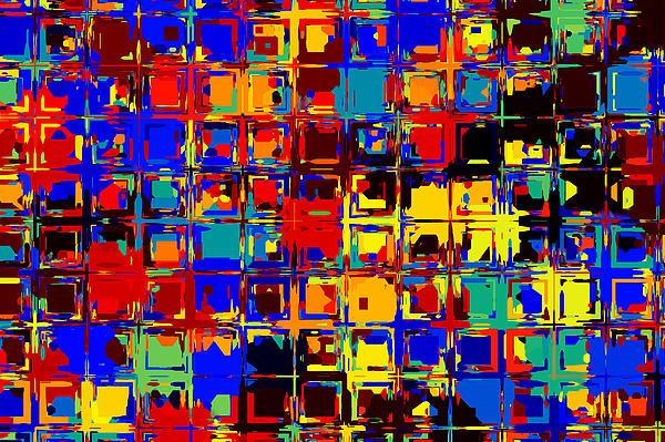 Pop Colors 15 Print by Craig Gordon