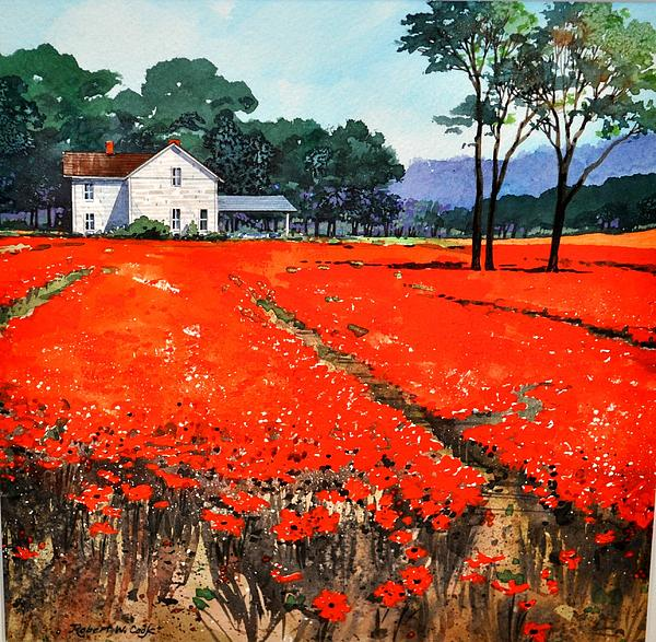 Robert W Cook  - Poppie Fields