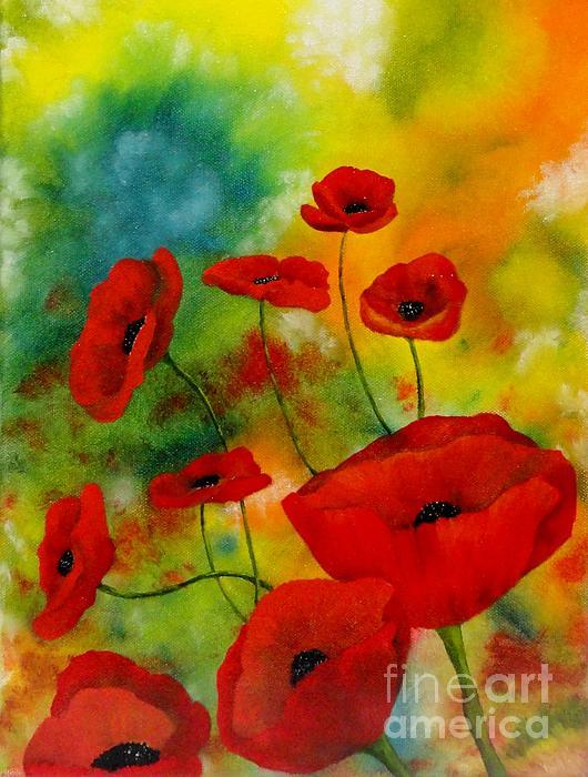 Carol Avants - Poppies