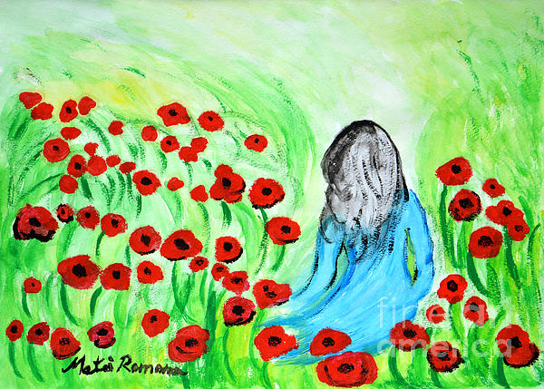 Ramona Matei - Poppies Field Illusion