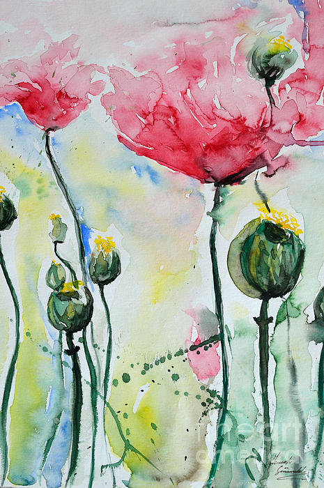 Ismeta Gruenwald - Poppies