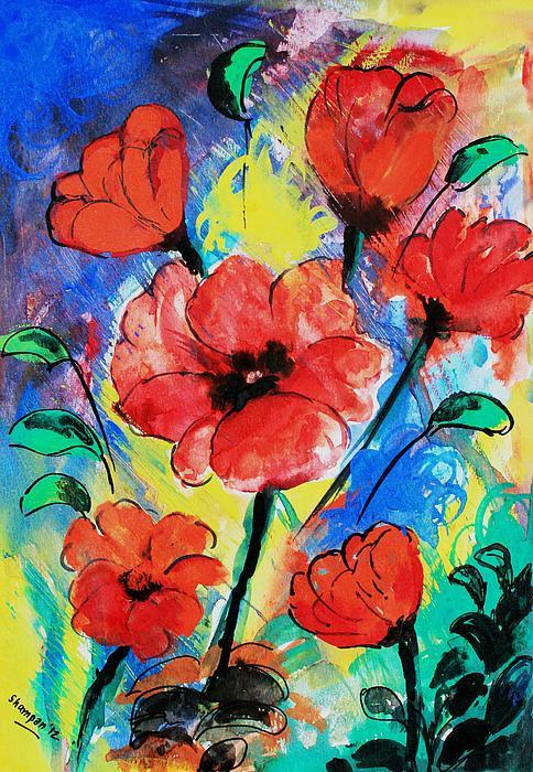Shakhenabat Kasana - Poppy blossom