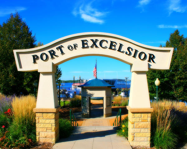 Port Of Excelsior Print by Perry Webster