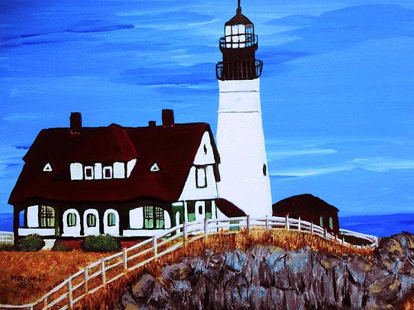 Maggie Ullmann - Portland head lighthouse
