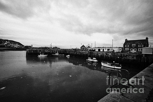 Portpatrick Harbour Scotland Uk Print by Joe Fox