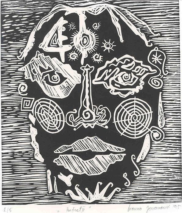 Portrait Print by Branko Jovanovic