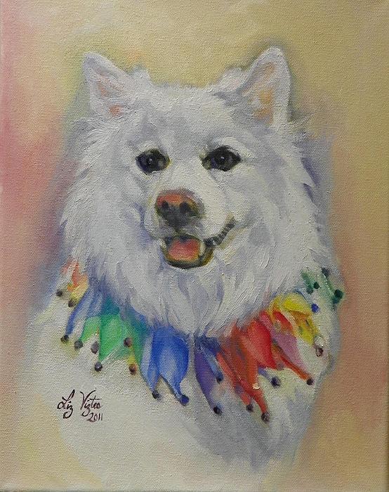 Liz Viztes - Portrait of a Much Beloved Dog