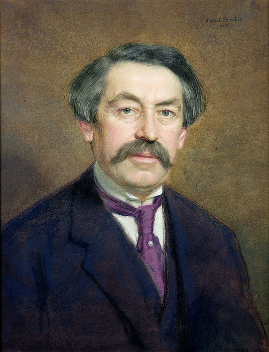 Portrait Of Aristide Briand 1862-1932 1916 Pastel On Paper ...