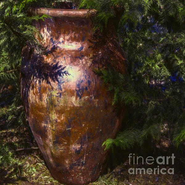 Jean OKeeffe Macro Abundance Art - Potters Clay