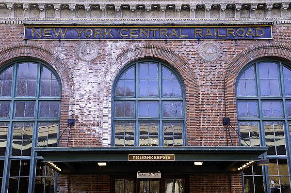 Poughkeepsie Train Station Print by Joseph Duba