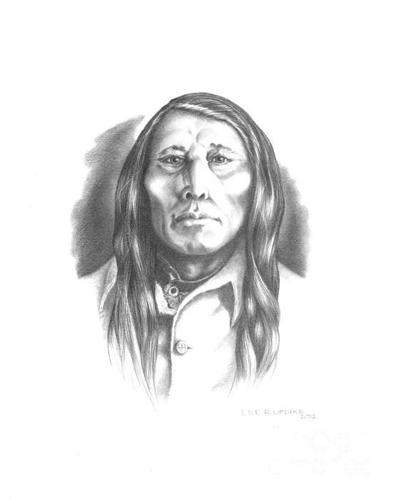 Poundmaker Print by Lee Updike