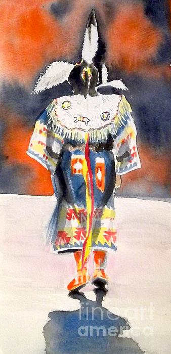 Pow Wow 1 Print by Yoshiko Mishina