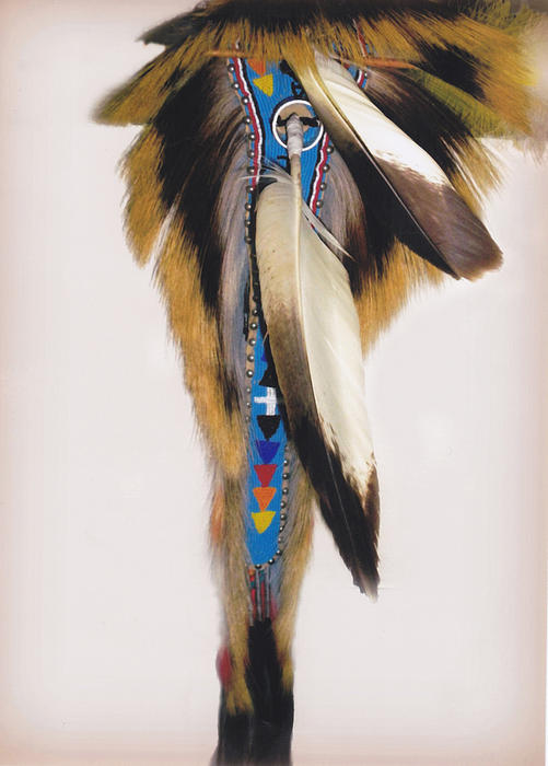 Glenn Aker - Pow Wow Regalia - White