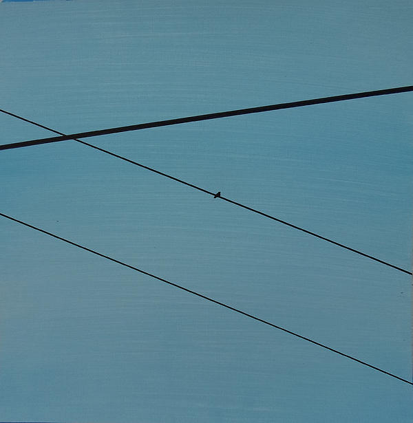 Power Lines 03 Print by Ronda Stephens