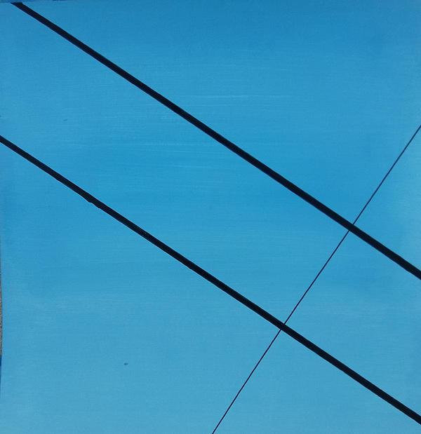 Power Lines 07 Print by Ronda Stephens