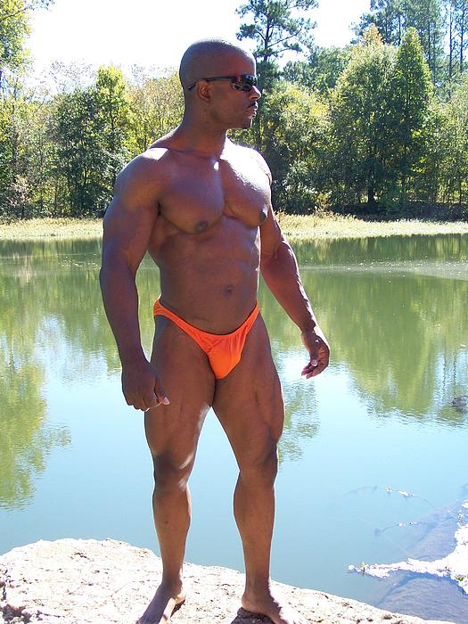 Power Of Muscle Print by Jake Hartz
