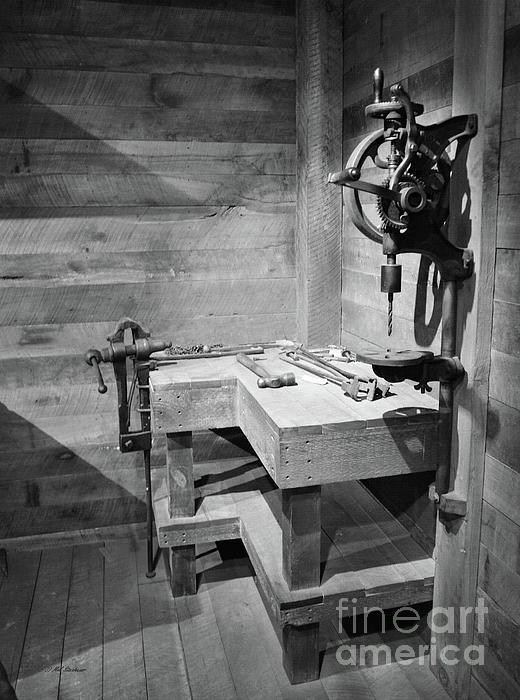 Power Tools Print by Mel Steinhauer