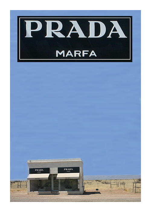 Prada Marfa Texas Print by Jack Pumphrey