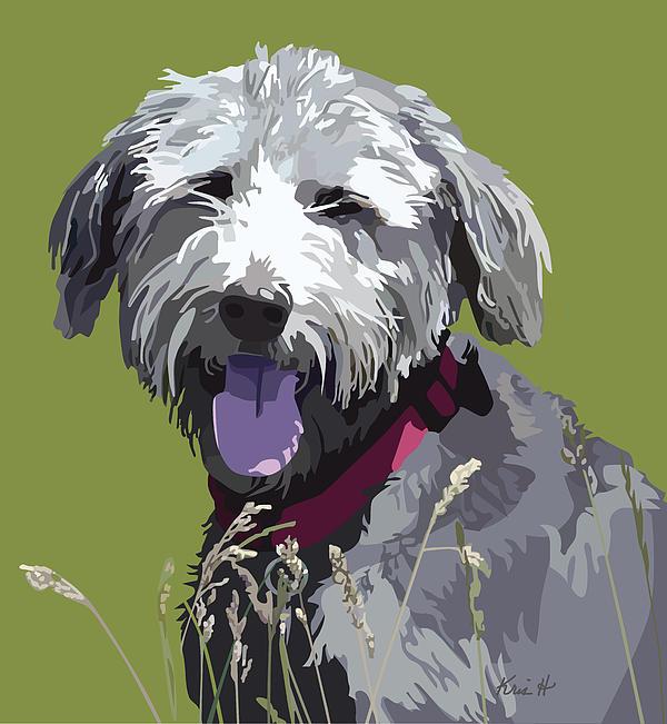 Prairie Dog Print by Kris Hackleman