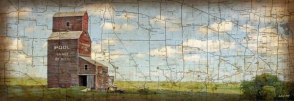Prairie Panorama Print by Judy Wood