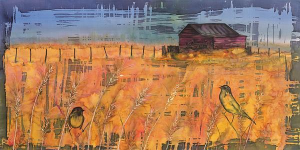 Prairie Song Print by Carolyn Doe