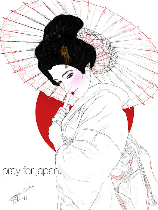 Stephanie Louden - Pray for Japan