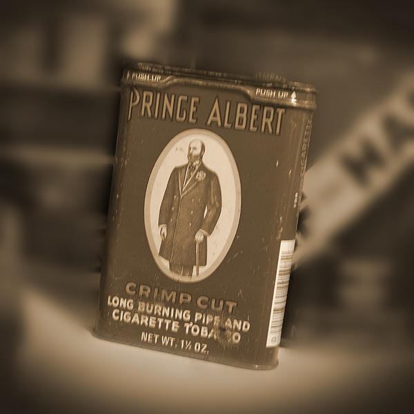 Prince Albert In A Can Print by Mike McGlothlen