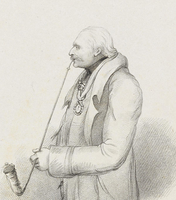Prince Blucher Print by Samuel Freeman
