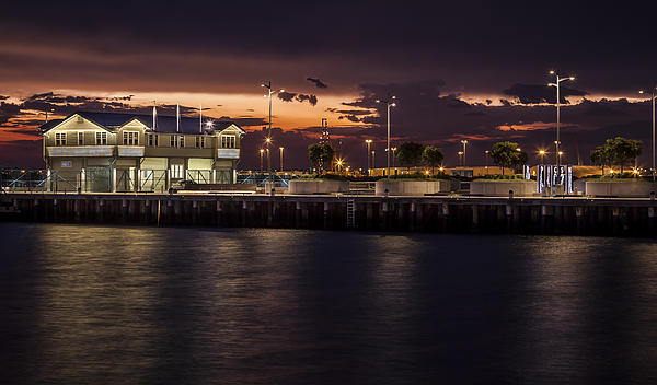 Princes Pier Gateway Print by Shari Mattox