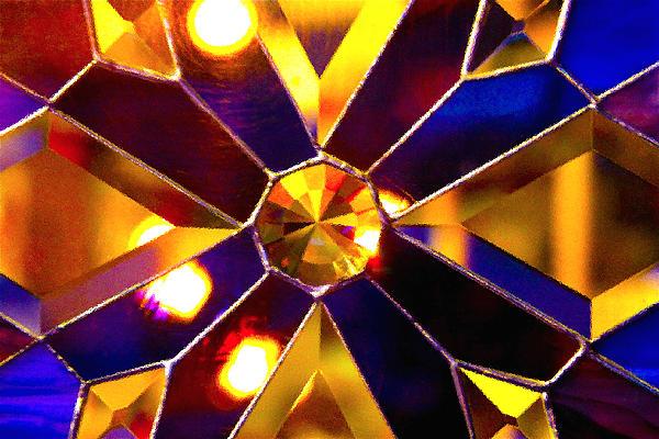 Prism Glass Spectrum Print by Karon Melillo DeVega
